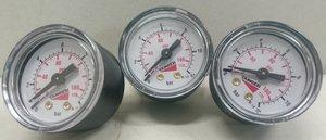 Camozzi mekanisk tryckmätare 0-12bar 1/8 NPT