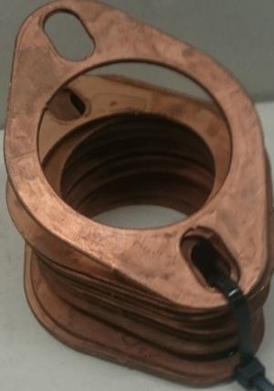 """Autometer Gauge Bracket Kit, 2 5/8"""", aluminum, qty 3 2226"""