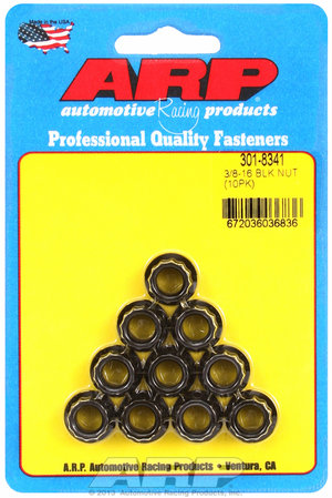 ARP 3/8-16 12pt nut kit 3018341