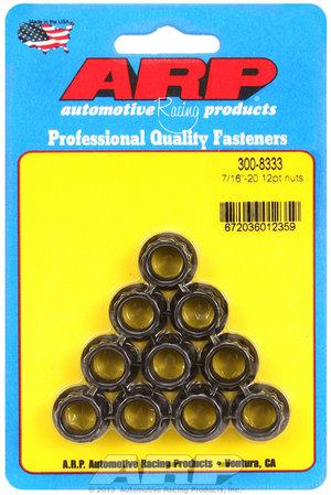 ARP 7/16-20 12pt nut kit 3008333