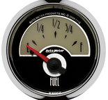 "Autometer Gauge, Fuel Level, 2 1/16"", 0?E to 90?F, Elec, Cruiser 1113"