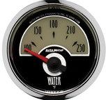 "Autometer Gauge, Water Temp, 2 1/16"", 250şF, Elec, Cruiser 1138"