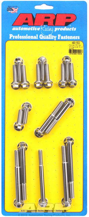 ARP Pontiac SS hex timing cover & water pump kit 4901502