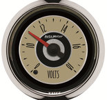 "Autometer Gauge, Voltmeter, 2 1/16"", 18V, Digital Stepper Motor, Cruiser 1183"