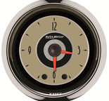 "Autometer Gauge, Clock, 2 1/16"", 12Hr, Analog, Cruiser 1185"