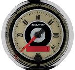 "Autometer Gauge, Speedometer, 3 3/8"", 120mph, Elec. Programmable, Cruiser 1186"