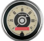 "Autometer Gauge, Speedometer, 3 3/8"", 120mph, Elec. Programmable, Cruiser AD 1187"