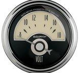 """Autometer Gauge, Voltmeter, 2 1/16"""", 18V, Elec, Cruiser AD 1191"""