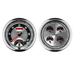 "Autometer Gauge Kit, 2 pc., Quad & Tach/Speedo, 5"", American Muscle 1205"