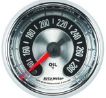 "Autometer Gauge, Oil temp, 2 1/16"", 280şF, Digital Stepper Motor, American Muscle 1256"