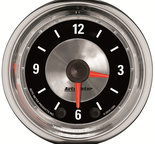 "Autometer Gauge, Clock, 2 1/16"", 12Hr, Analog, American Muscle 1284"