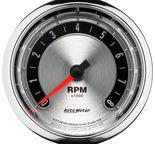 "Autometer Gauge, Tachometer, 3 3/8"", 8k RPM, In-Dash, American Muscle 1298"