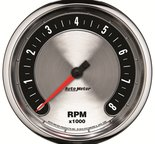 "Autometer Gauge, Tachometer, 5"", 8k RPM, In-Dash, American Muscle 1299"