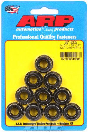 ARP M10 X 1.25 M16 socket 12pt nut kit 3018355