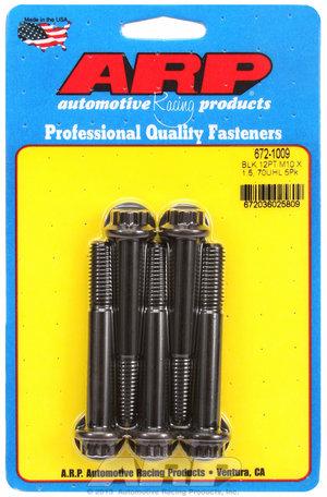 ARP M10 x 1.50 x 70 12pt black oxide bolts 6721009