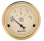"Autometer Gauge, Fuel Level, 2 1/16"", 240?E to 33?F, Elec, Golden Oldies 1506"