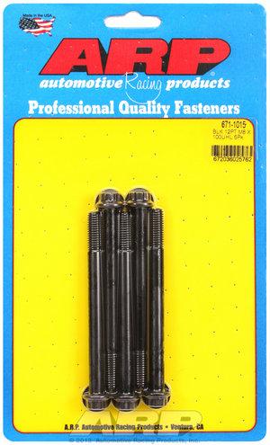 ARP M8 x 1.25 x 100 12pt black oxide bolts 6711015