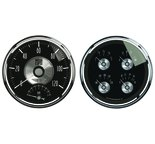 "Autometer Gauge Kit, 2 pc., Quad & Tach/Speedo, 5"", Prestige Blk. Diamond 2005"