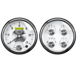 "Autometer Gauge Kit, 2 pc., Quad & Tach/Speedo, 5"", Prestige Pearl 2008"