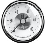"Autometer Gauge, Oil Press, 2 1/16"", 100psi, Mech, Prestige Pearl 2023"