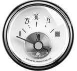 "Autometer Gauge, Oil Press, 2 1/16"", 100psi, Elec, Prestige Pearl 2026"