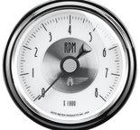 """Autometer Gauge, Tachometer, 3 3/8"""", 8k RPM, In-Dash, Prestige Pearl 2098"""