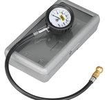 Autometer Gauge, Tire Pressure, 0-60psi, Analog, NASCAR Licensed 2160