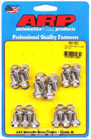 ARP Ford SS hex oil pan bolt kit 4541802