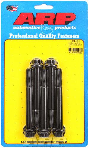 ARP M12 x 1.50 x 100 12pt black oxide bolts 6741011