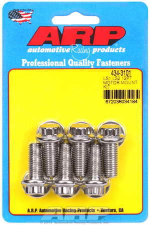 ARP LS1 LS2 SS 12pt motor mount bolt kit 4343101