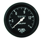 "Autometer Gauge, Fuel Pressure, 2 5/8"" 0-15psi, Mechanical, Black, AutoGage 2311"