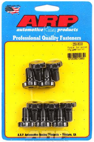 """ARP Ford 8.8"""" & 9"""", 7/16"""" diameter, 3/4"""" socket ring gear bolt kit 2503003"""