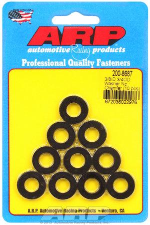 ARP 3/8 ID 3/4 OD black washers 2008687