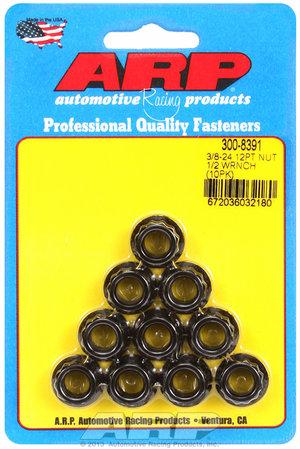 ARP 3/8-24, 1/2 socket 12pt nut kit 3008391