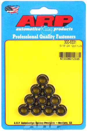 ARP 5/16-24 12pt nut kit 3008331