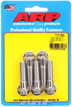 ARP 3/8-24 x 1.500 12pt SS bolts 7131500