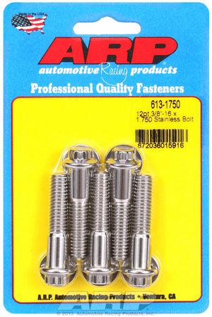 ARP 3/8-16 x 1.750 12pt SS bolts 6131750