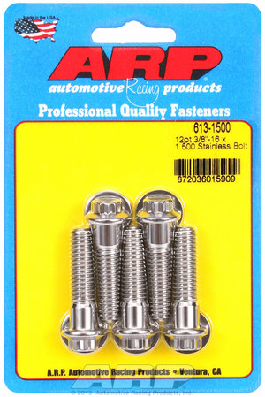 ARP 3/8-16 x 1.500 12pt SS bolts 6131500