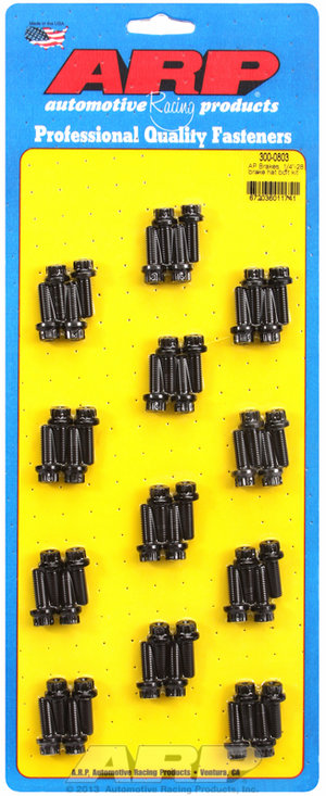 "ARP AP Brakes, 1/4""-28 brake hat bolt kit 3000803"