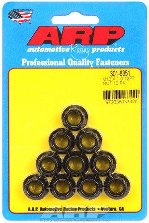 ARP M10 X 1.0 12pt nut kit 3018351