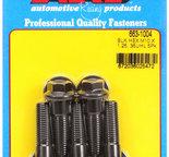 ARP M10 x 1.25 x 35 hex black oxide bolts 6631004