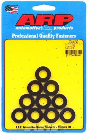 ARP 7/16 ID 7/8 OD black washers 2008747