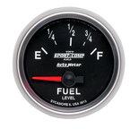 "Autometer Gauge, Fuel Level, 2 1/16"", 0?E to 90?F, Elec, Sport-Comp II 3613"