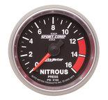 "Autometer Gauge, Nitrous Press, 2 1/16"", 1600psi, Digital Stepper Motor, Sport-Comp II 3674"