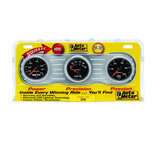 "Autometer Gauge Kit, 3 pc., OILP/WTMP/VOLT, 2 1/16"" 100psi/240şF/18V, Mechanical, GS 3800"