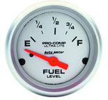 "Autometer Gauge, Fuel Level, 2 1/16"", 240?E to 33?F, Elec, Ultra-Lite  4316"