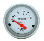 "Autometer Gauge, Fuel Level, 2 1/16"", 16?E to 158?F, Elec, Ultra-Lite 4318"