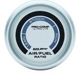 "Autometer Gauge, Air/Fuel Ratio-Narrowband, 2 1/16"", Lean-Rich, LED Array, Ultra-Lite 4375"