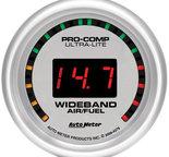 "Autometer Gauge, Air/Fuel Ratio-Wideband, Street, 2 1/16"", 10:1-17:1, Digital, Ultra-Lite 4379"