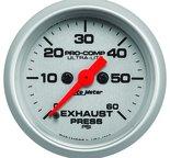 "Autometer Gauge, Exhaust Press, 2 1/16"", 60psi, Digital Stepper Motor, Ultra-Lite 4392"